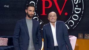 Dani Rovira y Pepe Viyuela (TVE-1).