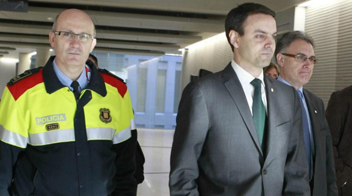 Ensu declaración de esta mañana, Manel Prat ha defendido la actuación de los agentes.