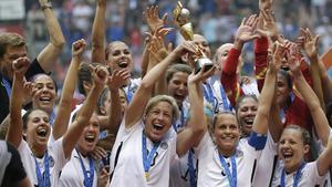 Las campeonas del Mundial de Francia 2019.