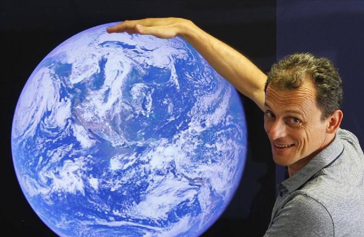 El astronauta Pedro Duque.