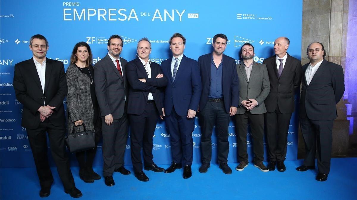 Miembros del equipo de Anaconda.