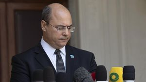 El destituido gobernador de Río de Janeiro, Wilson Witzel.