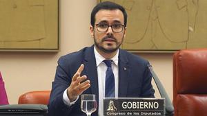 Alberto Garzón, líder de IU y ministro de Consumo.