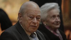 Jordi Pujol y Marta Ferrusola, el 18 de febrero del 2020
