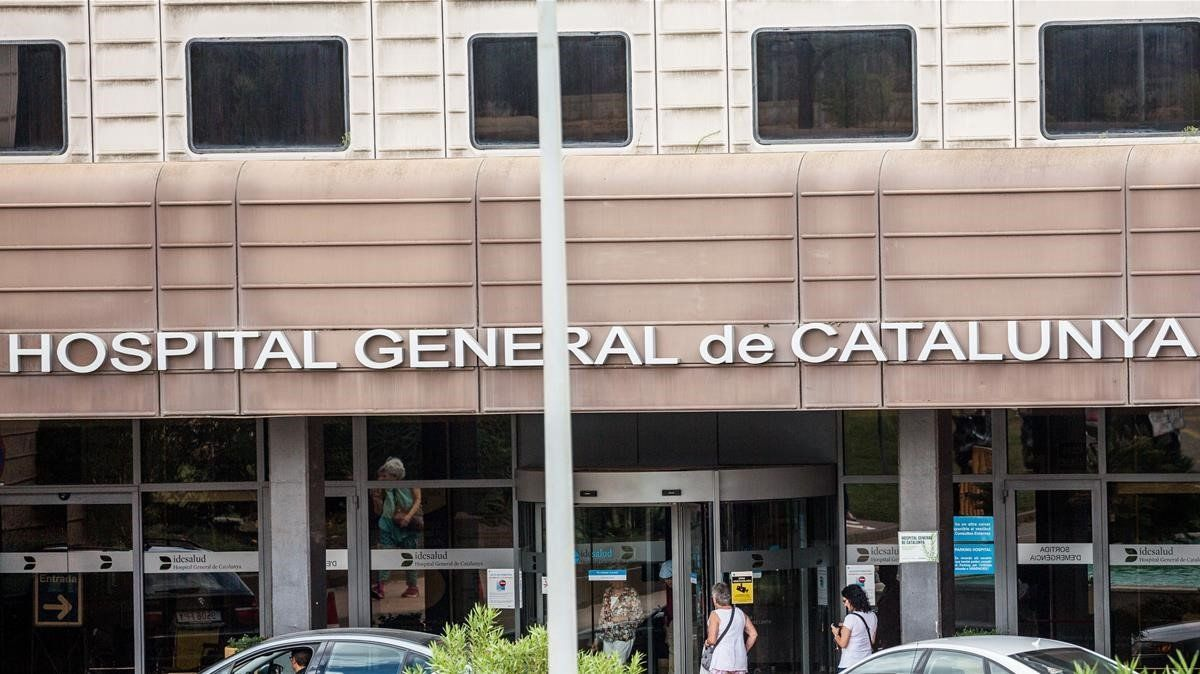Fachada del Hospital General de Catalunya.