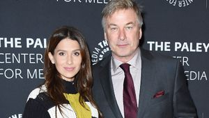 Alec Baldwin y su esposa, Hilaria, en una 'premiere' en Nueva York, en el 2017.
