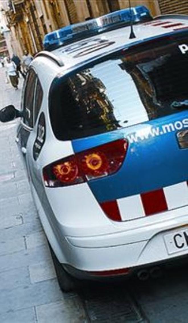 Un coche de los Mossos.