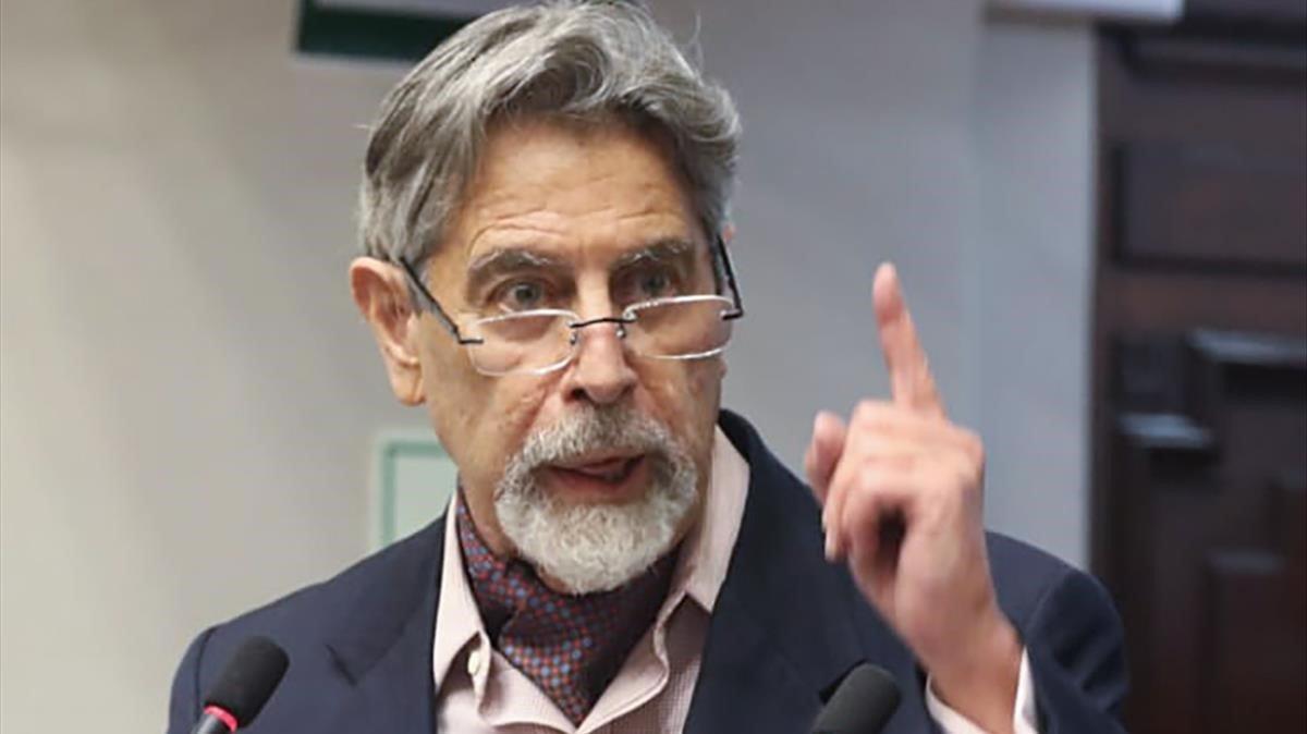 El Congreso de Perú designa como presidente a Francisco Sagasti