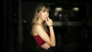 La cantante Aitana, fotografiada en Barcelona