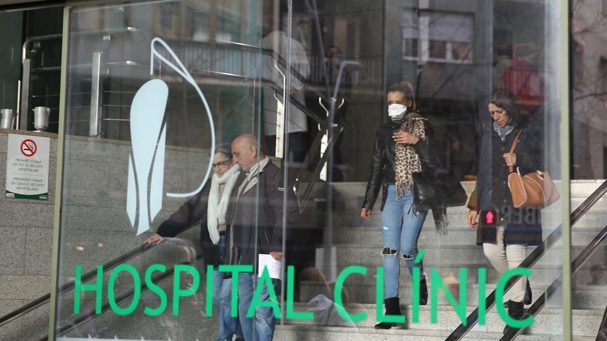 L'11,2% del personal sanitari del Clínic s'ha encomanat de Covid-19