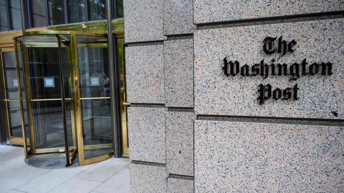Fachada de la redacción de 'The Washington Post'.