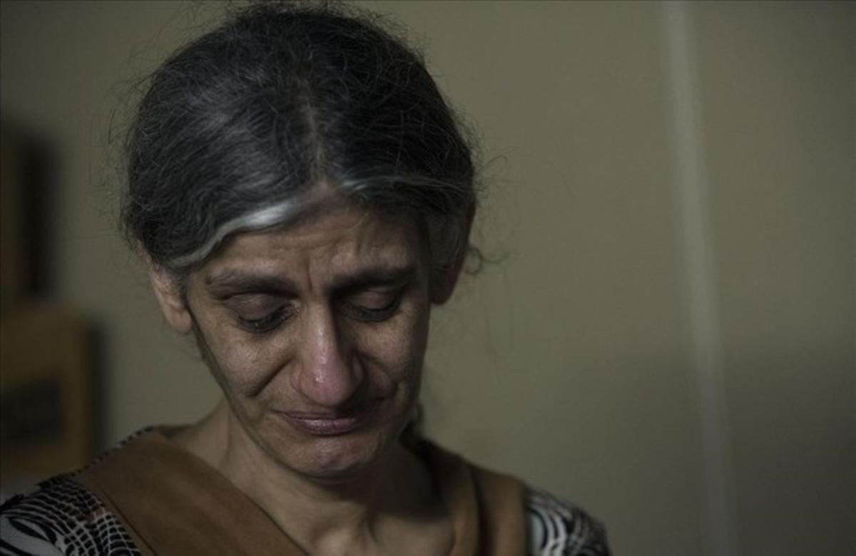 Aida Jadar, cristiana perseguida en Irak.