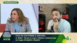 """La periodista Angélica Rubio responde al youtuber Roma Gallardo: """"Demagogias y tonterías las justas"""""""