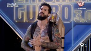 Juan Peligros, en 'El hormiguero' (A-3 TV).