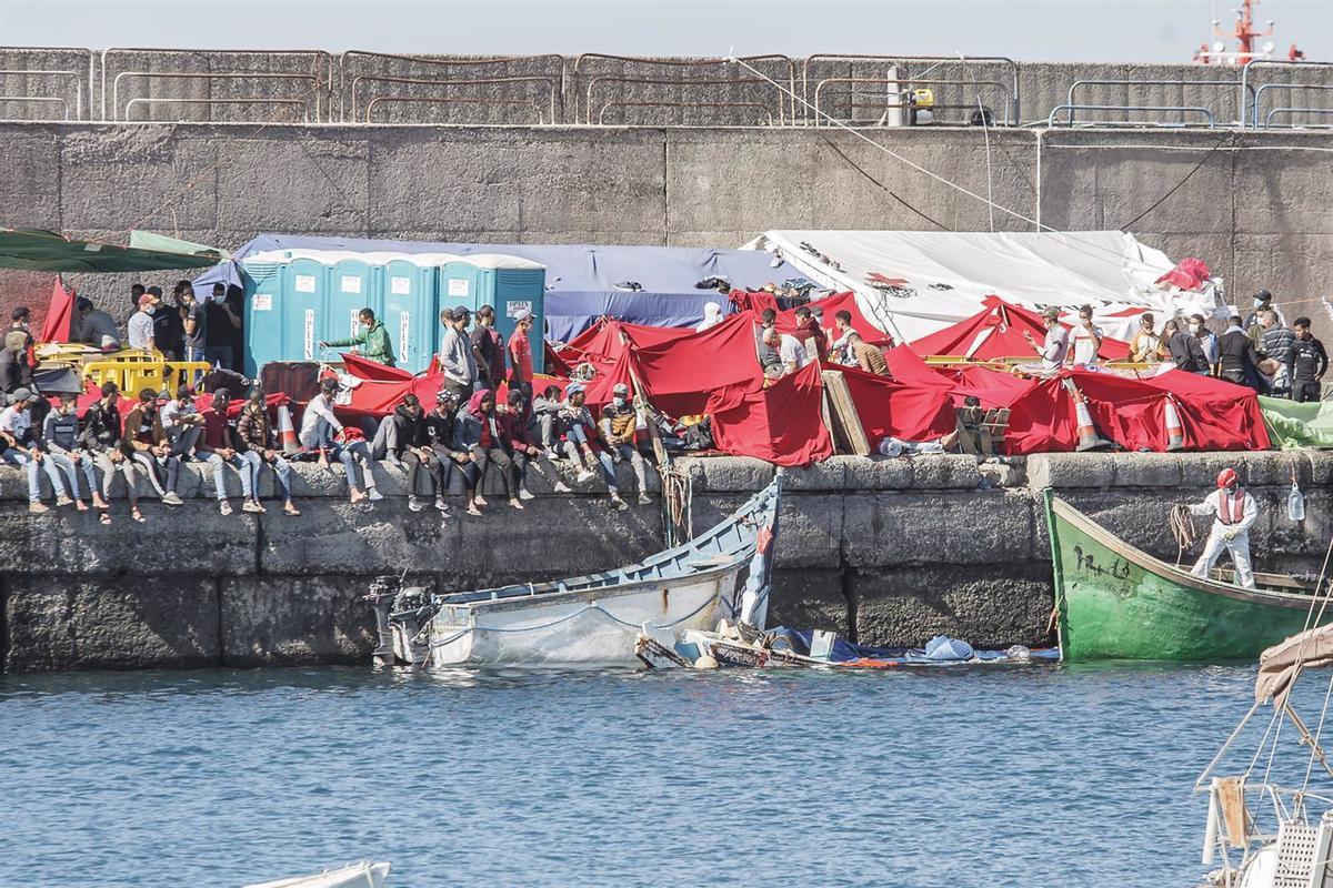 Drama migratori a les Canàries