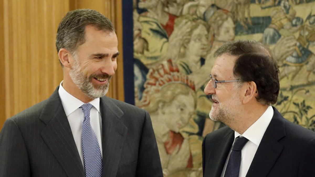 Mariano Rajoy pone fin a la ronda de contactos con el Rey