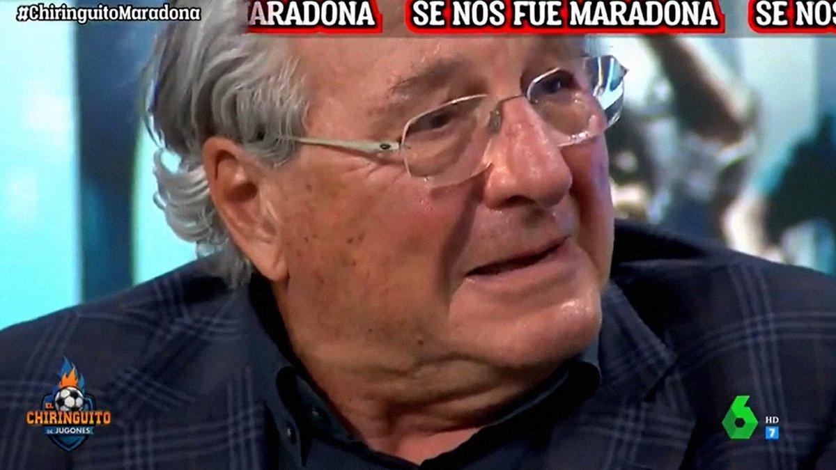 """Jorge D'Alessandro, consternado en 'El chiringuito' tras la muerte de Maradona: """"Estoy destrozado"""""""