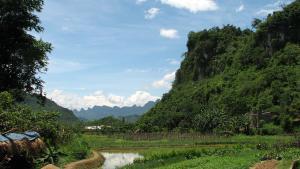 Unpaisaje de la región vietnamita de Ha Giang, en el norte del país.