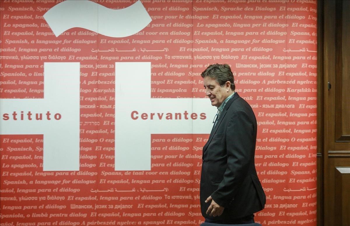 Luis García Montero, director del Instituto Cervantes.
