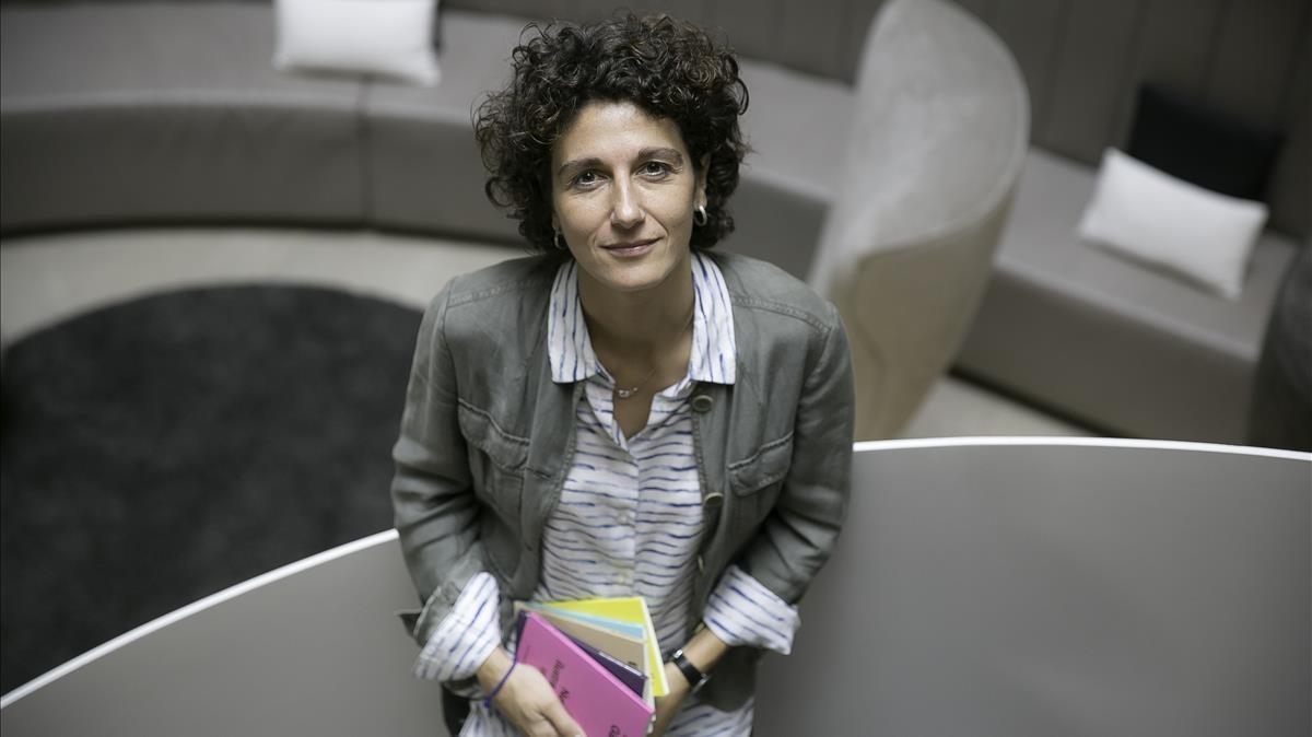 La filósofa Marina Garcés, en Barcelona.