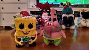 ´Bob Esponja, Patricio y Doug the Pug navideños