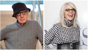 Woody Allen y Diane Keaton.