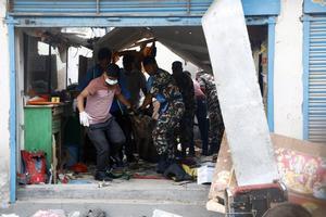 Ataques con explosivos enKatmandú, Nepal. EFE
