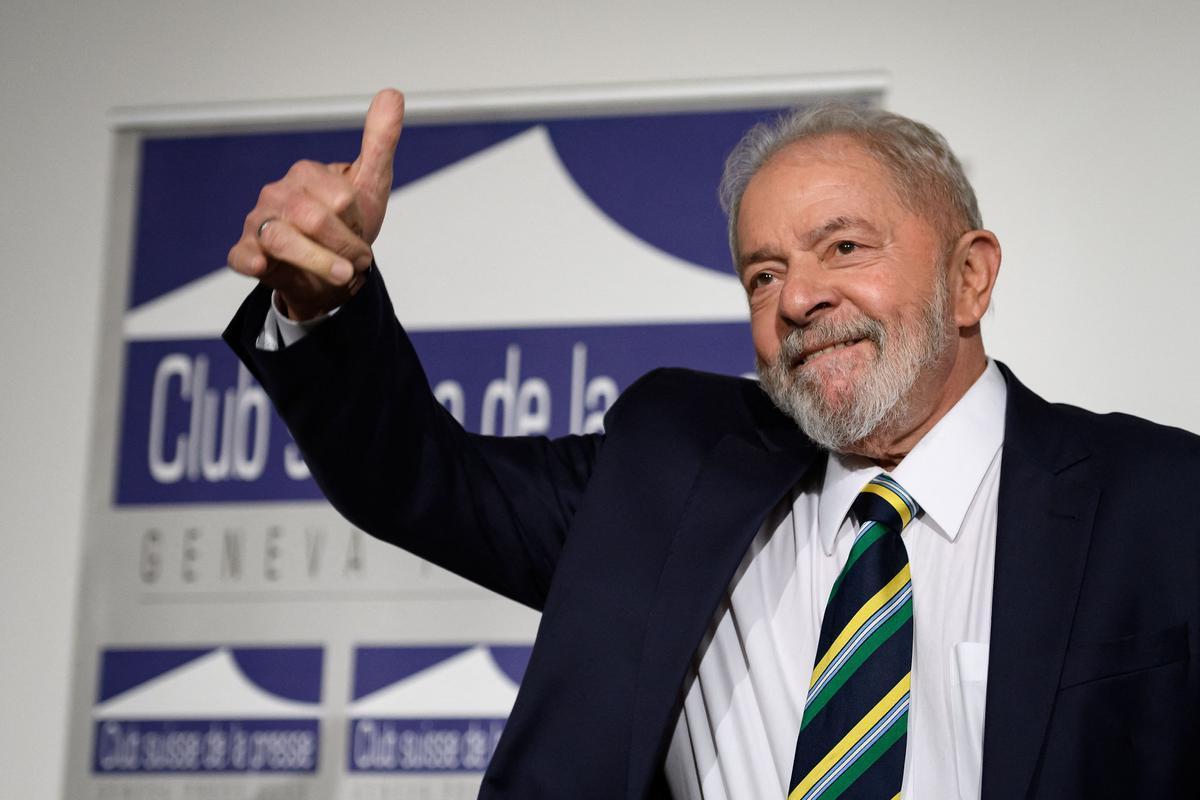El expresidente de Brasil, Luiz Inacio Lula da Silva, en una fotografía de marzo del 2020 .