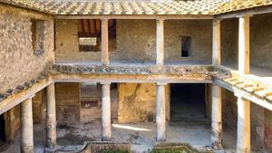 Pompeia culmina la seva gran restauració amb el «miracle» de la Casa dels Amants