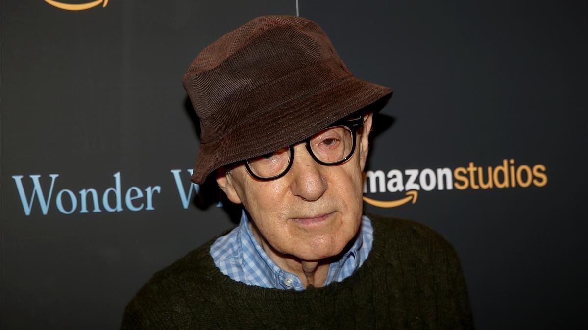 Wody Allen, en la presentación en el 2017 de su película 'Wonder Wheel', producida por Amazon.