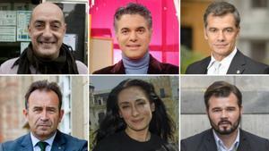 Famosos al poder: las listas electorales más mediáticas