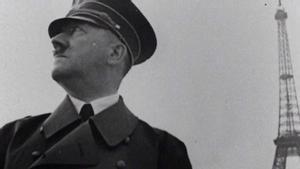 Adolf Hitler, en su visita a París.