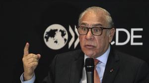 El actual secretario general de la OCDE, José Angel Gurria.