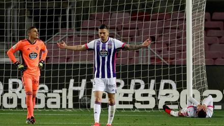 Dembélé firma una agónica victoria del Barça sobre el Valladolid