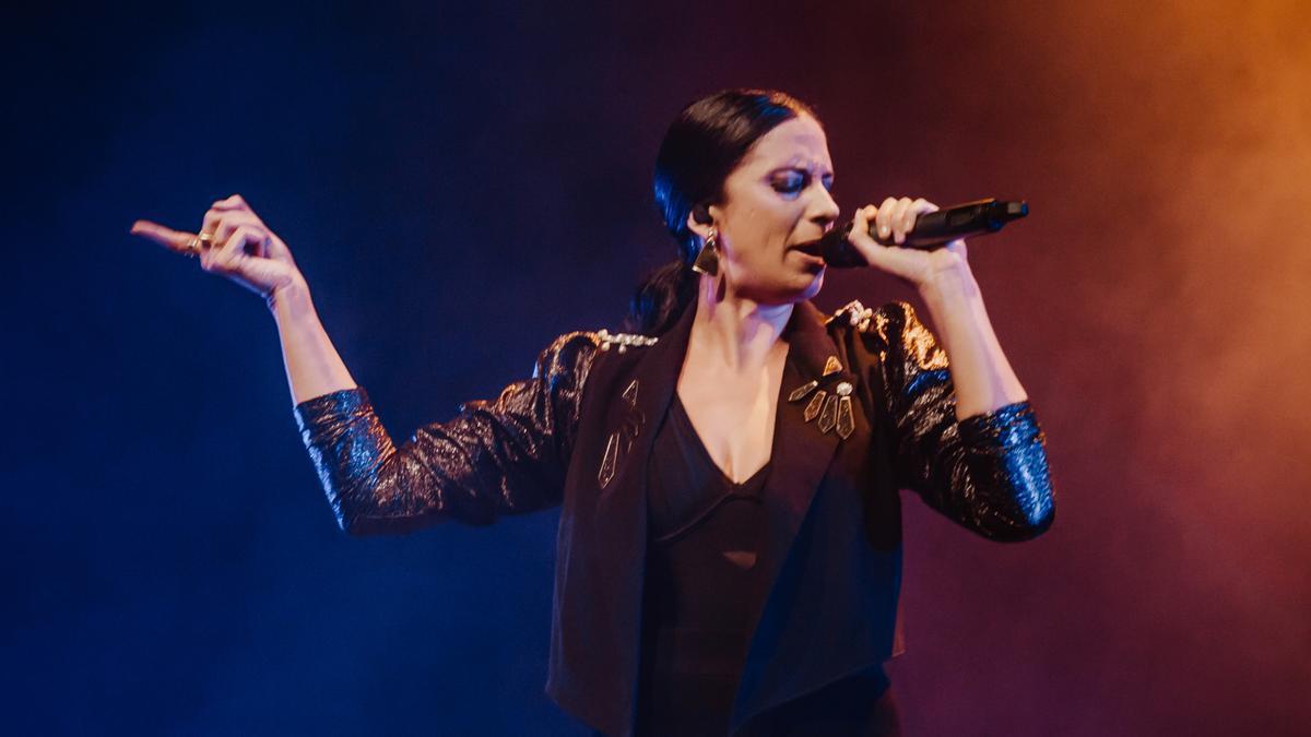 María Peláe, en Vic, el jueves.