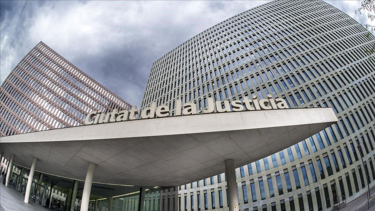 La Ciutat de la Justícia de Barcelona.