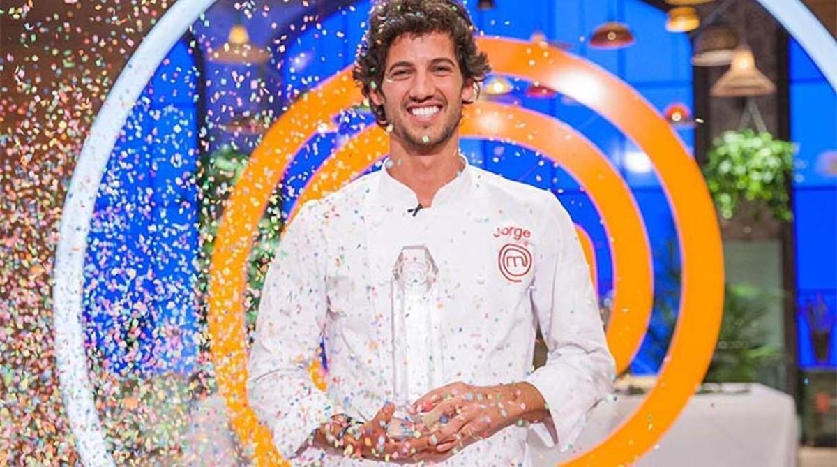 Jorge, ganador de la quinta edición del concurso gastronómicode TVE-1 'Masterchef'.