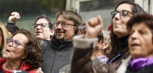 Xavier Domènech, nou secretari general de Podem amb el 72% dels vots