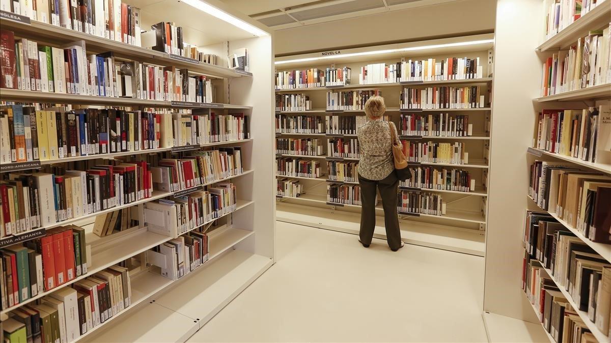 La biblioteca municipal Joan Maragall, en Sant Gervasi.