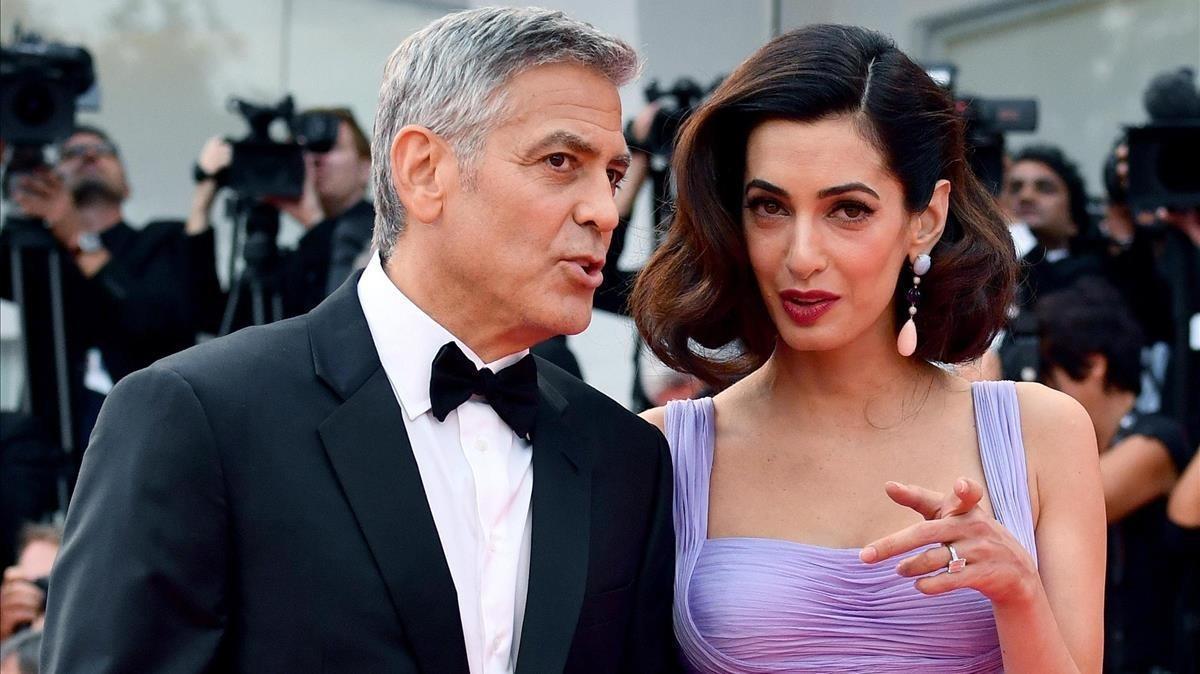 Els Clooney acullen un refugiat iraquià