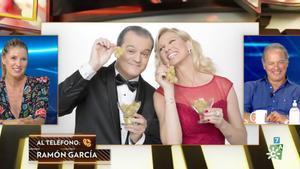 La llamada de Ramón García en 'El show de Bertín', el nuevo programa de Bertín Osborne.