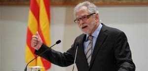 Carles Viver Pi-Sunyer, máximo responsable de la Oficina d'Estudis del'Autogovern.