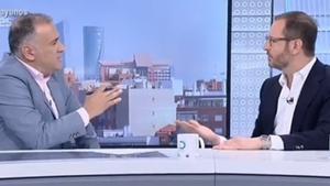 Picabaralla entre Maroto i el periodista Xabier Fortes per l'entrevista a Otegi