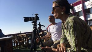 Homenatge a Barcelona a la periodista Ana Alba