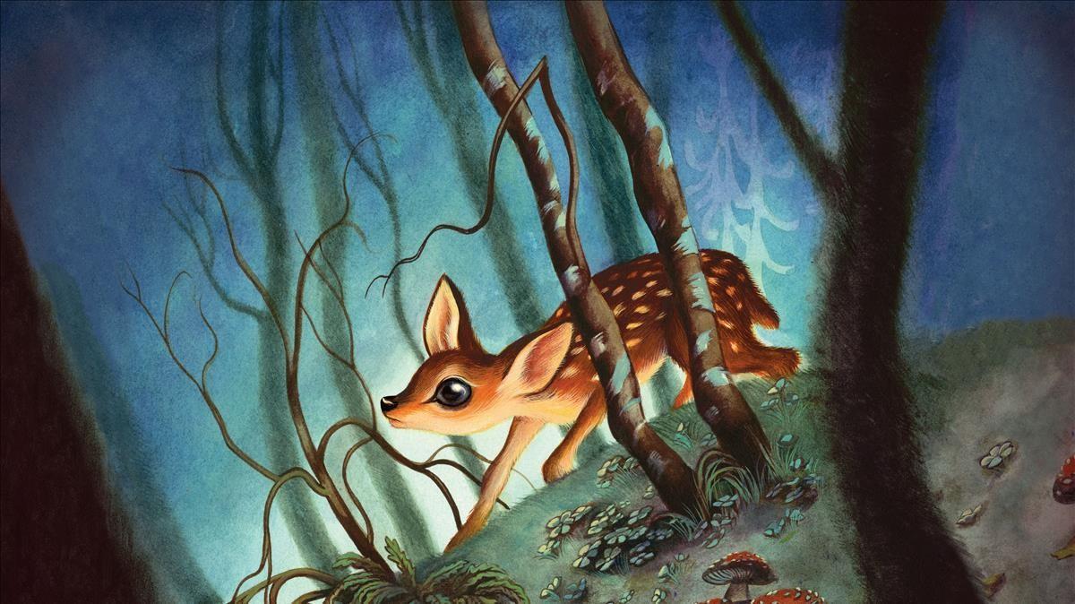 Bambi, visto por Benjamin Lacombe.