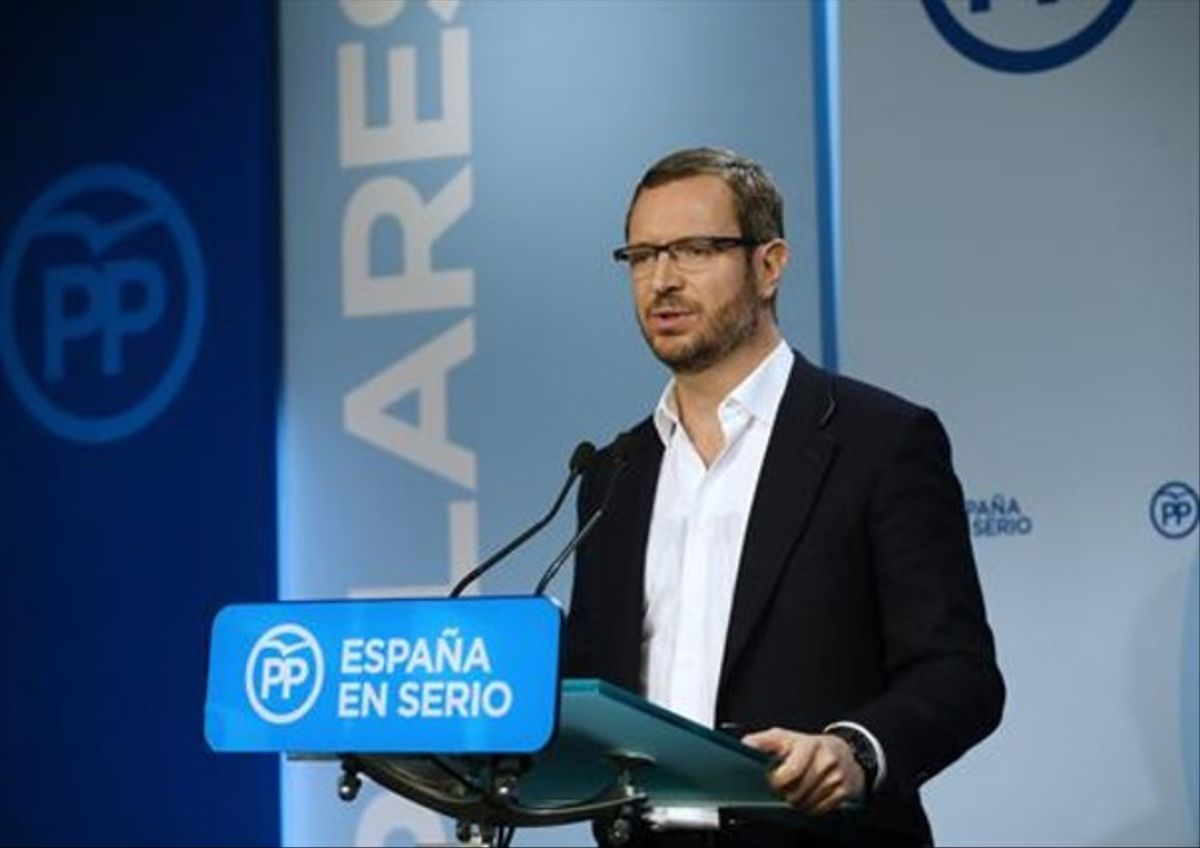 El vicesecretario de Política Social y Sectorial del PP, Javier Maroto.