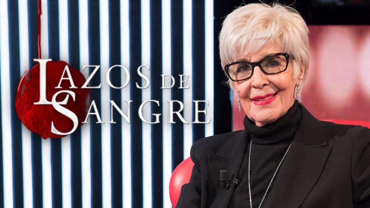 Concha Velasco, protagonista del regreso de 'Lazos de sangre' a La 1 de TVE.