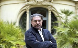 Antonio Onetti, en la sede de la SGAE en Madrid, la semana pasada.