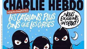 La portada de 'Charlie Hebdo' dedicada al 'procés'.