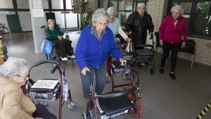Residentes del geriàtrico Sant Pere de Terrassa se sienten 'salvadas' del covid después de haber sido vacunadas.